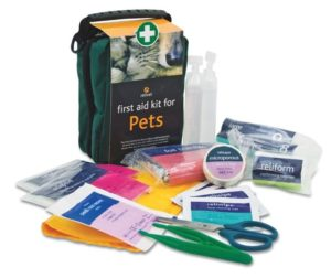 First Aid Kit for Pets