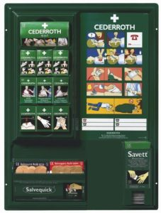 Large First Aid Panel, Filled
