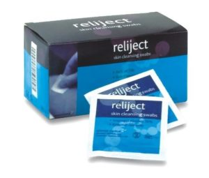 Reliject - Pre-Injection Wipes
