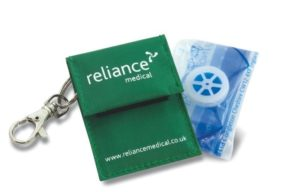One-Way Valve in Keyring Pouch