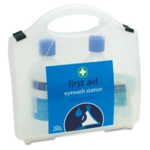 Double Eyewash First Aid Kit